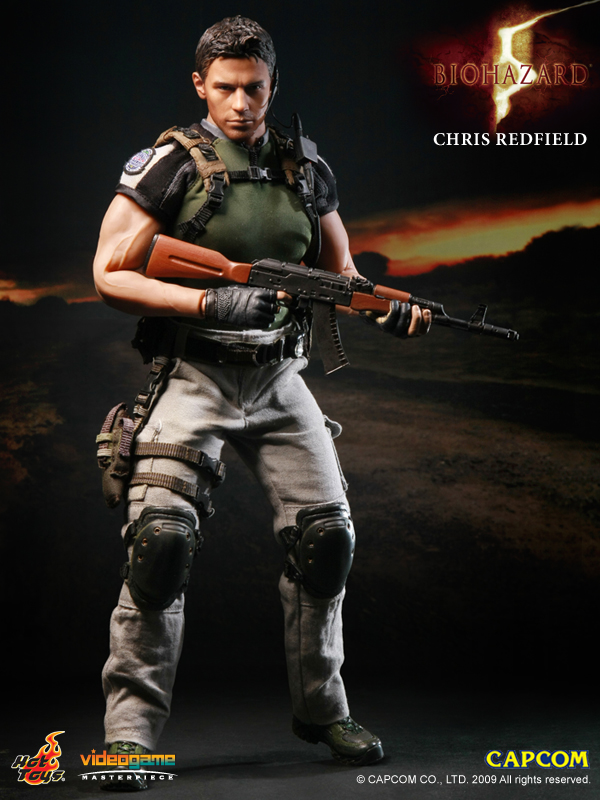 Hot Toys Resident Evil 5 Chris Redfield B S A A Version