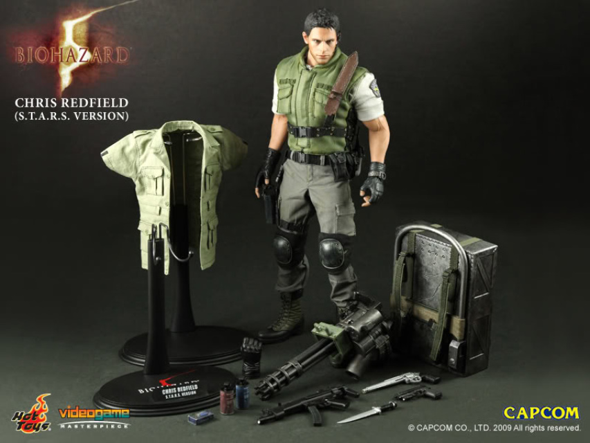 Hot Toys Resident Evil 5 Chris Redfield S T A R S Version