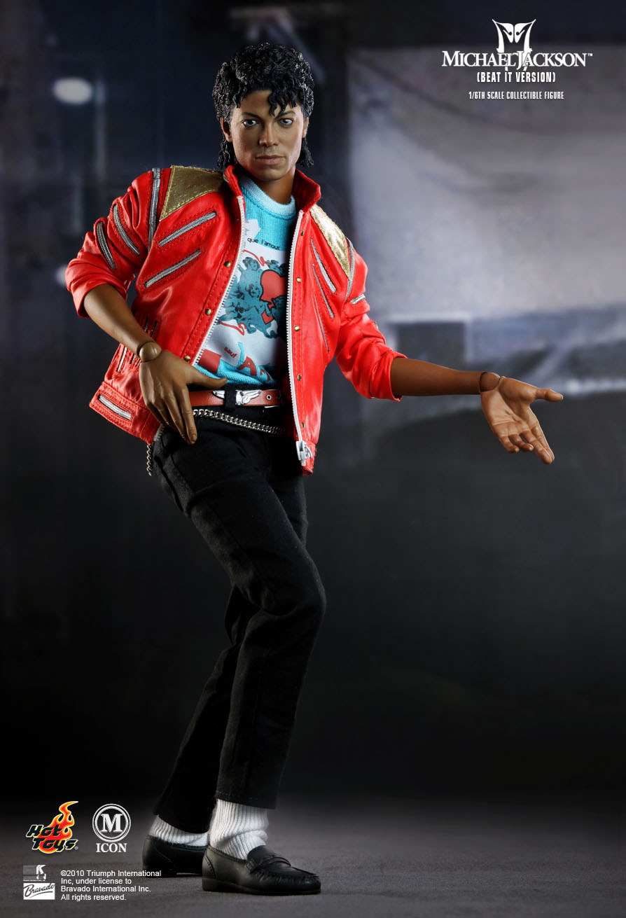 Hot toys michael jackson beat it version for Three jackson toy