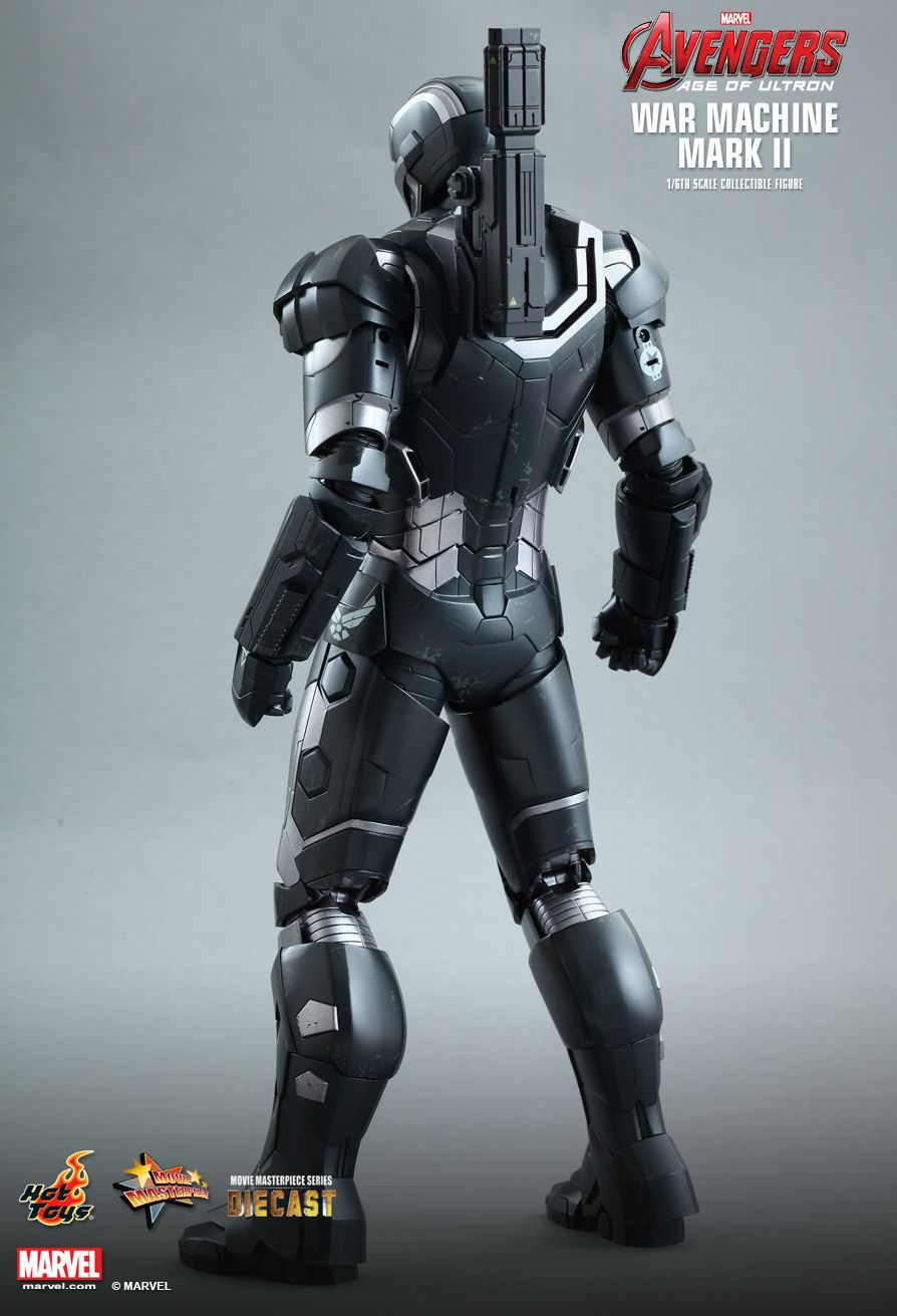 hot toys avengers age of ultron � war machine mark ii 2