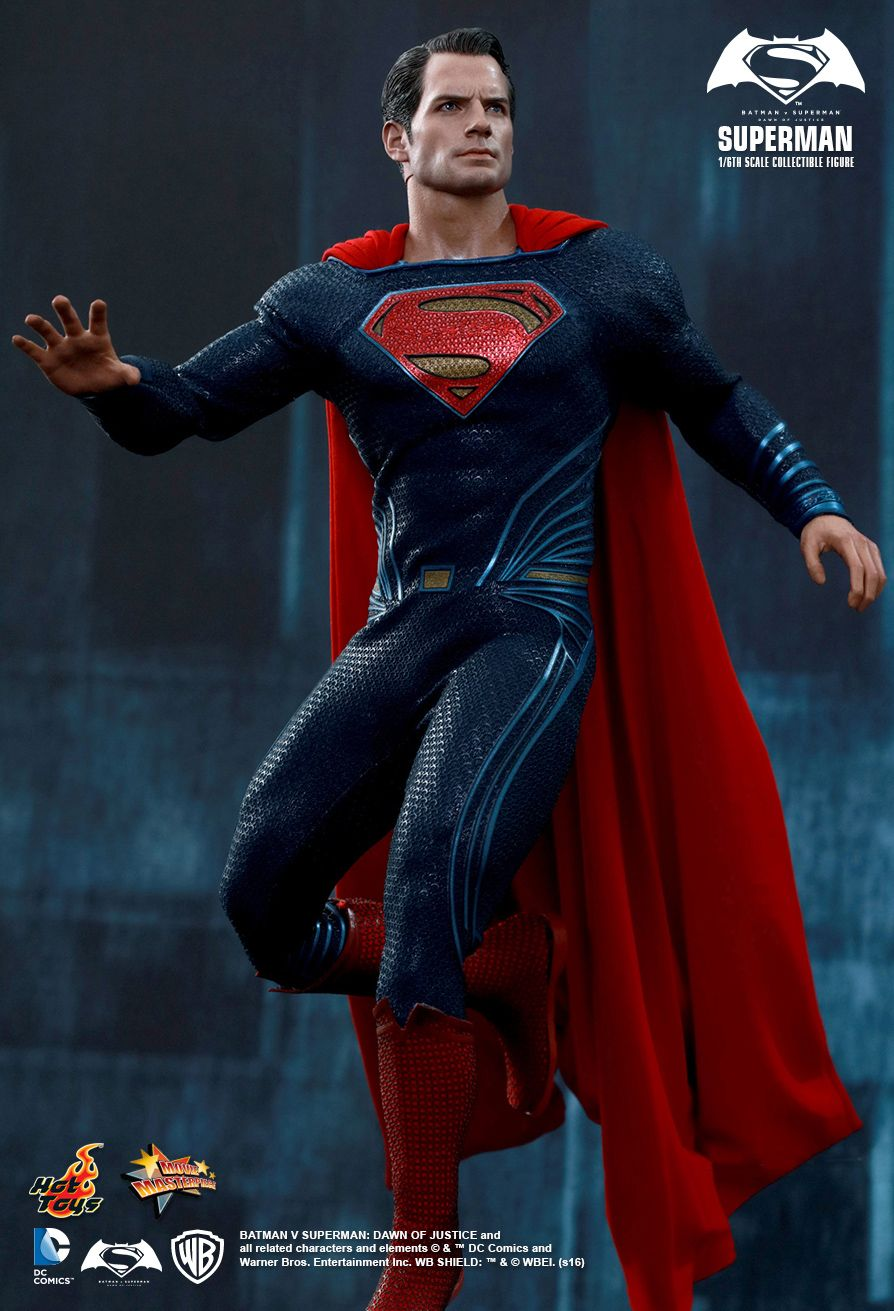 hot toys  batman v superman  u2013 superman