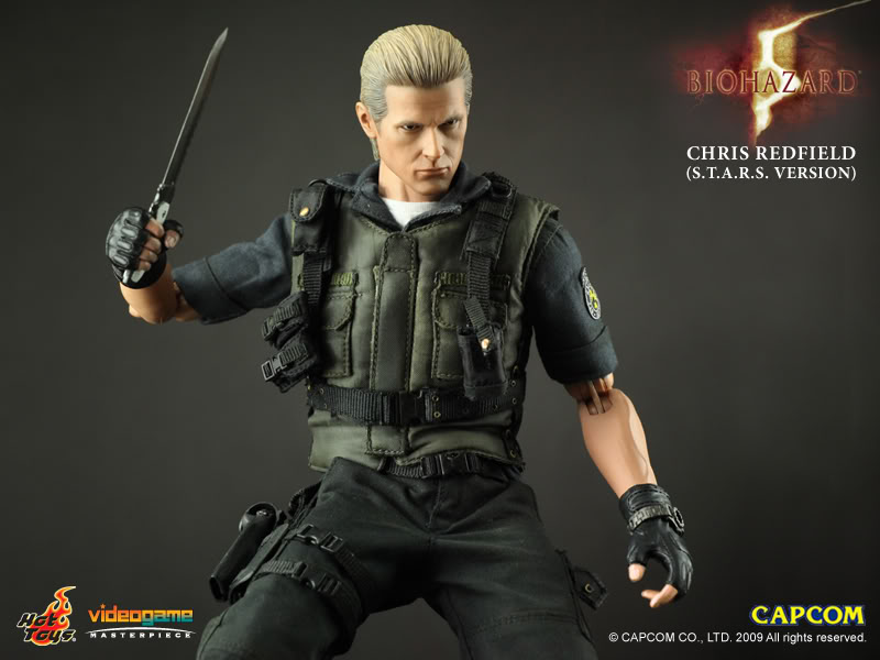 sc 1 st  JHSToys & Hot Toys: Resident Evil 5 - Albert Wesker S.T.A.R.S. Version
